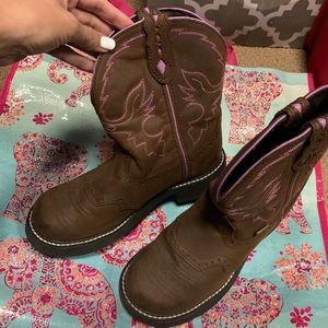 Justin Gypsy cowgirl boots! Women's size 9!